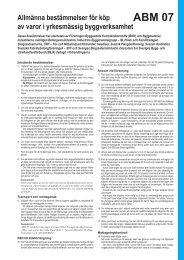 ABM 07 - Publikationer från Sveriges Byggindustrier