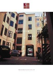 3B Beretning 2001 - Boligforeningen 3B