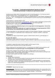 Vejledning biomedicinsk forskning - Hjerteforeningen