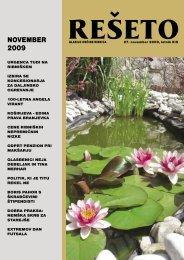 Rešeto, november 2009 / XIII - Občina Ribnica