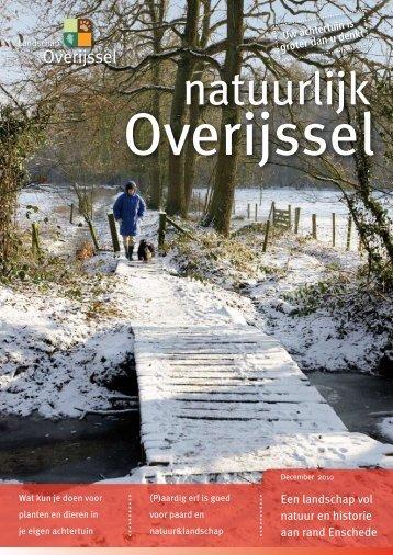 Een landschap vol natuur en historie aan rand Enschede