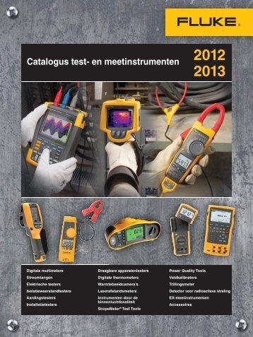 Catalogus test- en meetinstrumenten - Euro Index