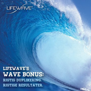Wave Bonus Brochure-DA - LifeWave