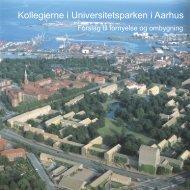 Kollegierne i Universitetsparken i Aarhus