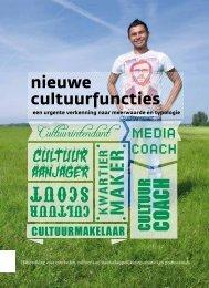nieuwe cultuurfuncties - Fonds voor Cultuurparticipatie
