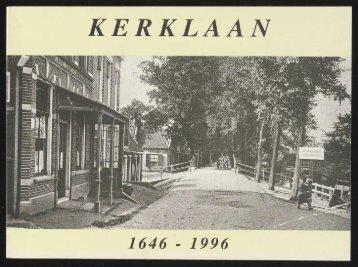 KERKLAAN - Historische Vereniging Heemstede-Bennebroek