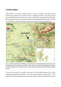 Investigation and simulation of groundwater-lake interaction with - Fiva - Page 7