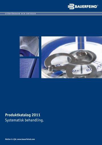 Produktkatalog 2011 Systematisk behandling. - Bauerfeind Danmark