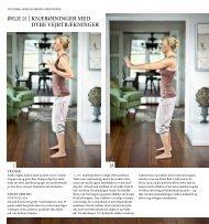 øvelse 01 | knæbøjninger med dybe vejrtrækninger - Arndal Spa ...