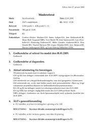Referat fra den 22. januar 2009 - Århus Lærerforening