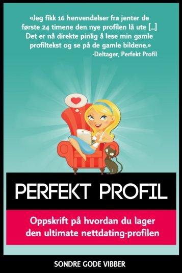 de første kapitlene - Perfekt Profil