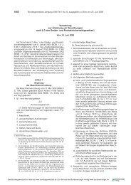 Verordnung zur Änderung von Verordnungen ... - Maschinenrichtlinie