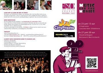 Download of bekijk alvast het programmaboekje - Fries Symfonie ...