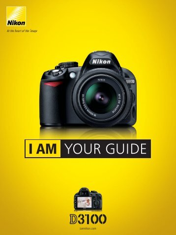 I AM YOUR GUIDE - Nikon