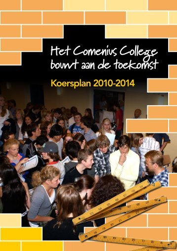Koersplan 2010 - 2014 - Comenius College