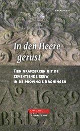 In den Heere gerust - Stichting Oude Groninger Kerken