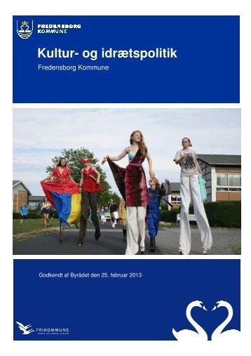 Kultur- og idrætspolitik - Fredensborg Kommune