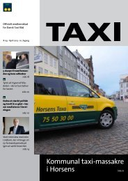 Taxi 04 - 2013 - Dansk Taxi Råd