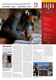 Stichting Vajra (pdf)