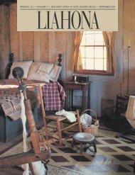 September 2001 Liahona