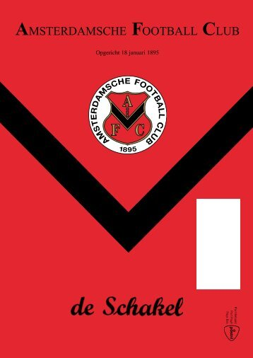 Download Schakel nr. 9 van 1 mei 2013 - AFC, Amsterdam