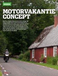 Motorvakantie concept - Biker´s Stop
