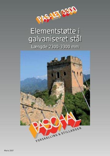 PAS-LET brochure og montageanvisning - PASCHAL-Danmark A/S