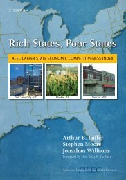 Rich States, Poor States: ALEC-Laffer State Economic Competitive ...
