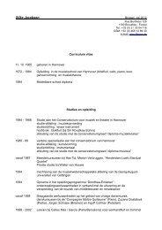 Klik hier voor het volledig CV van Silke Jacobsen.