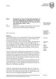 Redegørelse om tilsyn 2010 (pdf 247 KB) - Aarhus.dk