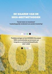 brochure SROI - Gemeente Almelo