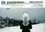 De Paalsteen - Jg. 11 nr. 4 - wintereditie 2012-2013 - Natuurpunt ...