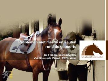Problemen met Merrie en Veulen rond de geboorte - Vlaams ...
