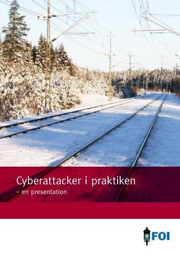 Cyberattacker i praktiken - broschyr - FOI