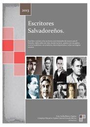 Biografias de escritores salvadoreños