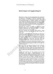 RA Tillämpning, beskrivningens roll och BSAB - Svensk Byggtjänst