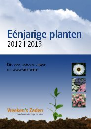 Eenjarige Planten