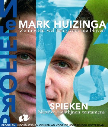 Profielen 16 - Profielen - Hogeschool Rotterdam