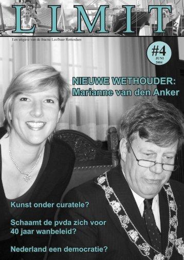Marianne van den Anker - Leefbaar Rotterdam