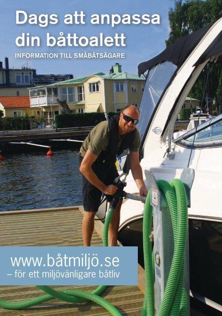 Dags att anpassa din båttoalett - Båtmiljö.se