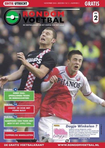 seizoen 2010/2011 nummer 2 - Rondom Voetbal