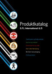 Produktkatalog - SFL International A/S