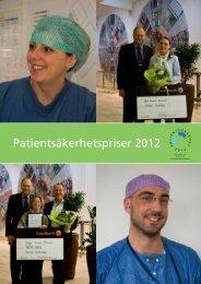 Patientsäkerhetspriser 2012 - Stockholms läns landsting