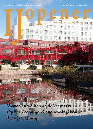Tien jaar IJburg Wonen en werken op de Veemarkt Op ... - IJopener