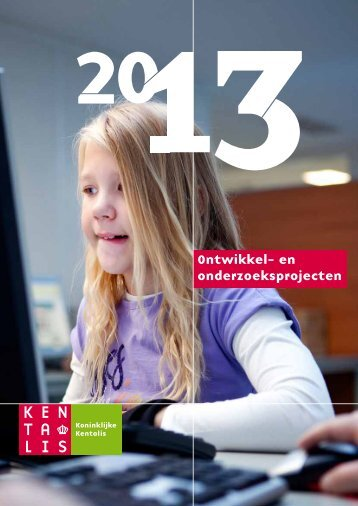 Ontwikkel- en onderzoeksprojecten - Kentalis