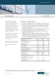 Stø kurs i urolig marked - Danske Bank