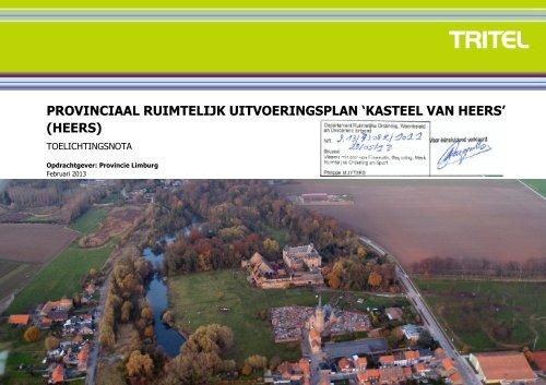kasteel van heers - Provincie Limburg