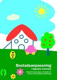 Broschyr: Bostadsanpassning i Uppsala kommun