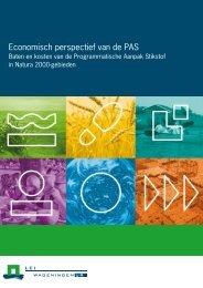 Economisch perspectief van de PAS - Programmatische Aanpak ...