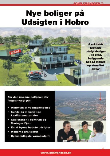 Nye boliger på Udsigten i Hobro - Husavisen